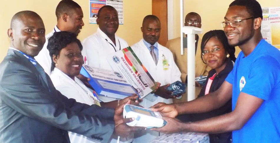 The donated machines will help needy patients to better manage NCDs